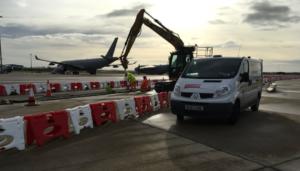 Minster Group work at RAF Brize Norton