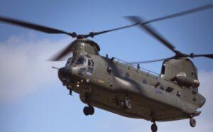 RAF Chinook at RAF Benson