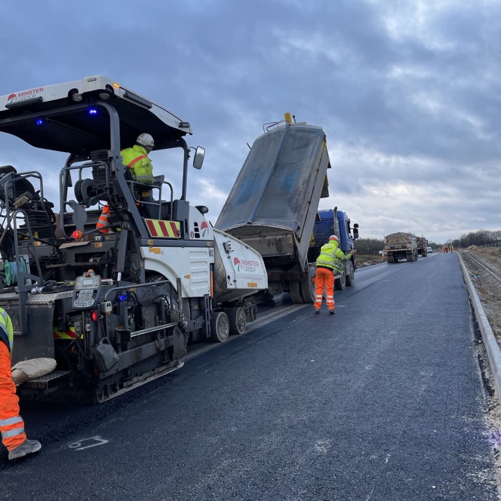 Minster Group lays a new surface for Lincoln Eastern Bypass
